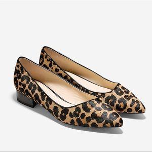 Cole Haan Leopard Hair Flats